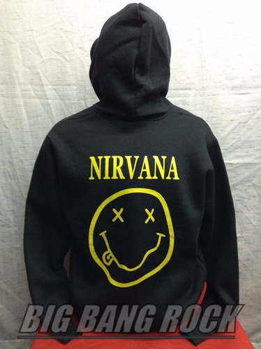 campera nirvana talle medium 53 cm x 63 cm big bang rock
