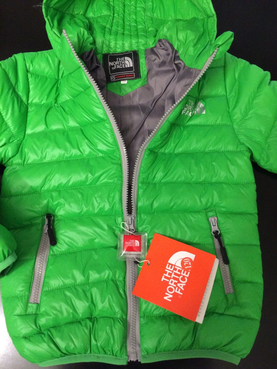 camperas north face niños