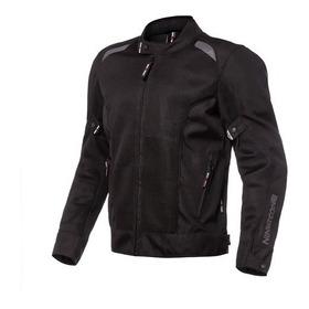 Campera Nto Ls2 Hyperfresh Cordura Negra Moto Plex Tuc