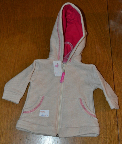 campera only baby forrada ultima 3-6 meses little treasure.