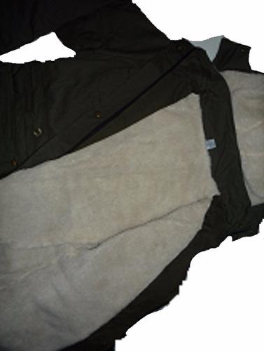 campera p/ dama gabardina corderito / matelasse abrigo parka