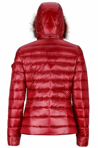campera pluma marmot mujer hailey jacket