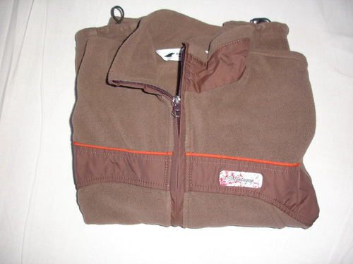 campera polar montagne talle s en impecable estado