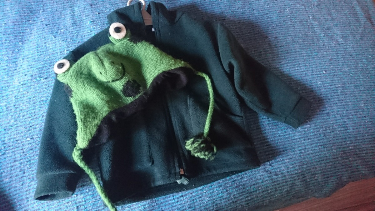 campera polar verde para niños 3   4 años con gorra regalo. Cargando zoom. 650385dd3aa