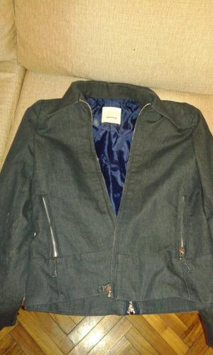 campera  portsaid azul jean