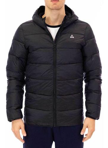 campera puff light down jacket negro hombre le coq sportif