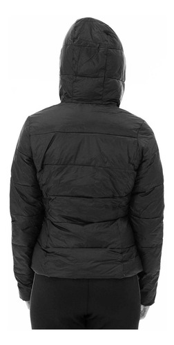 campera puff light down jacket negro mujer le coq sportif
