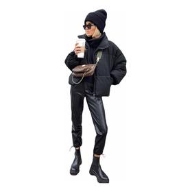 Campera Puffer Mujer Abrigada Invierno 2021 Moda