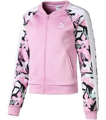 CHAQUETA Classics T7 AOP Jacket G Pale Pink-AOP
