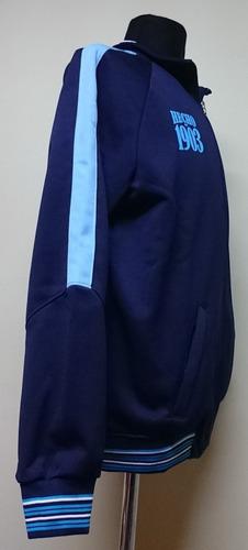 campera racing deportiva azul producto con licencia oficial