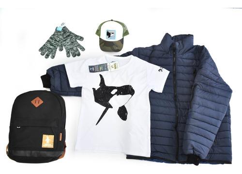campera-remera-mochila-gorra-guantes mundo marino