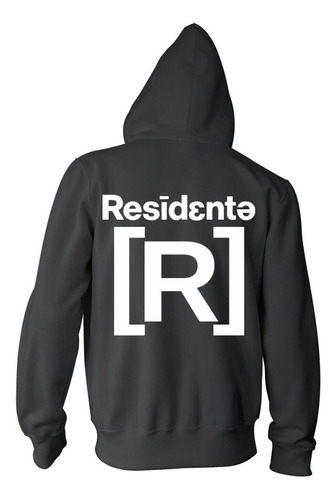 campera residente - color animal