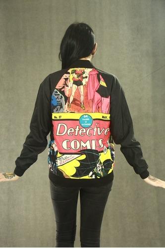 campera reversible batman // killing joke // dc // comic