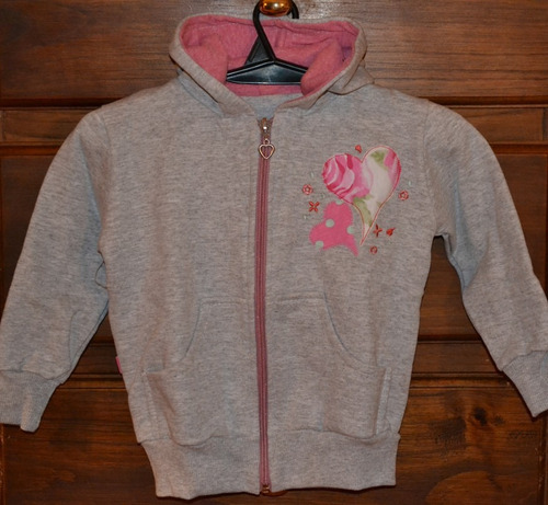 campera risata frisa lisa 2016 12-18 meses little treasure