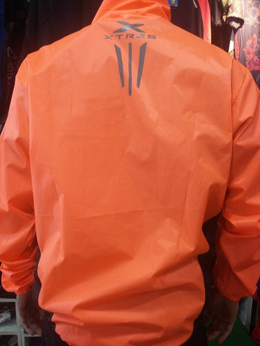 campera rompeviento ciclismo  impermeable x-tres windbraker
