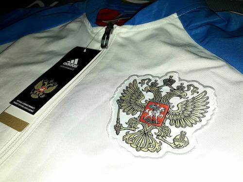 campera rusia anthem 2016/17 adidas original importada