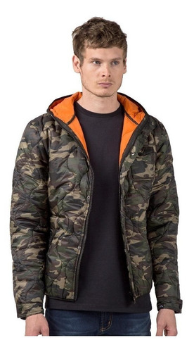 campera rusty kabul militar camuflada abrigo hombre rusty