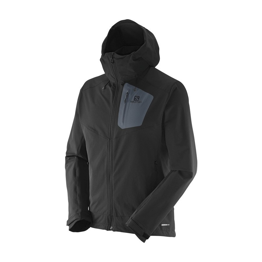 quality design 76400 8a9e0 Campera Salomon Softshell Ranger Hombre Black