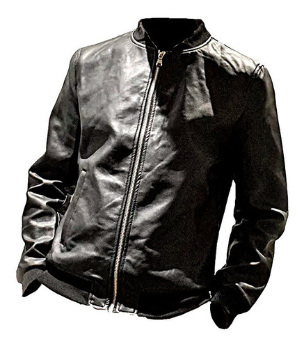 campera simil cuero dn3 adams