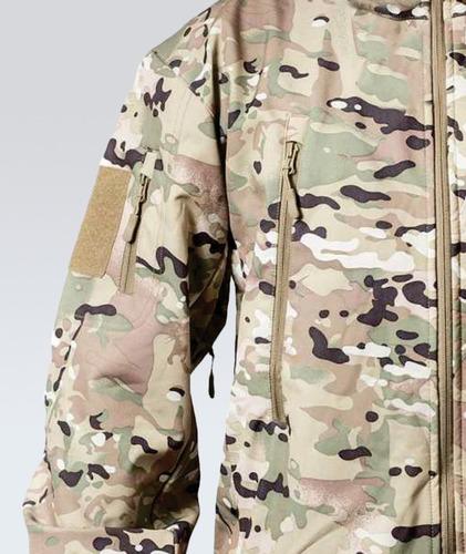campera softshell camuflada multicam campinox impermeable