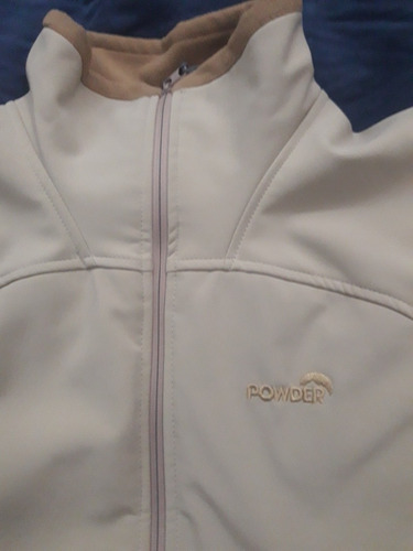 campera softshell impermeable termica powder