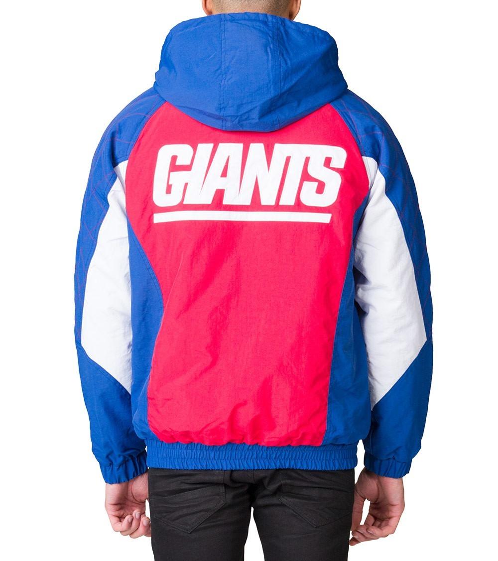 low priced 35349 c8505 Campera Starter New York Giants Hooded Jacket