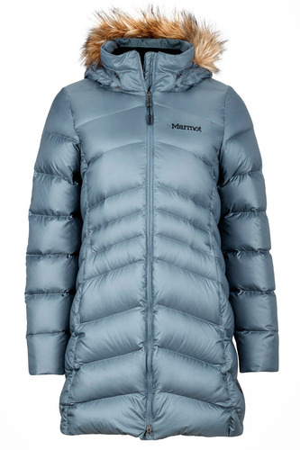 campera tapado piloto pluma marmot mujer montreal coat