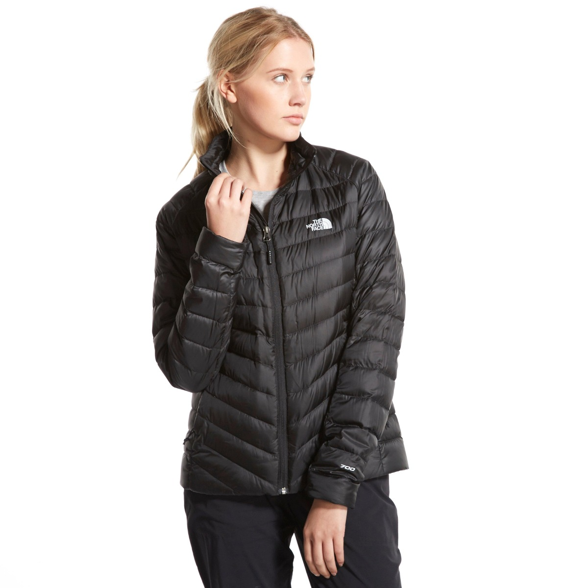 the north face parka mujer tonnerro negra