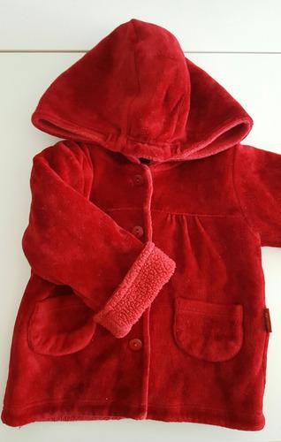 campera tipo tapado abrigo cheeky talle 9 a 12 meses nena