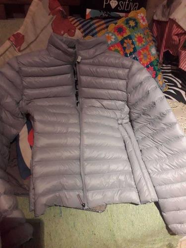 campera ultraliviana color gris xxl