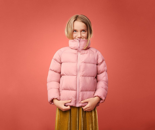 669950016 Campera Uniqlo Niña Talle 3-4 Años Sin Capucha Light Warm - $ 2.399 ...
