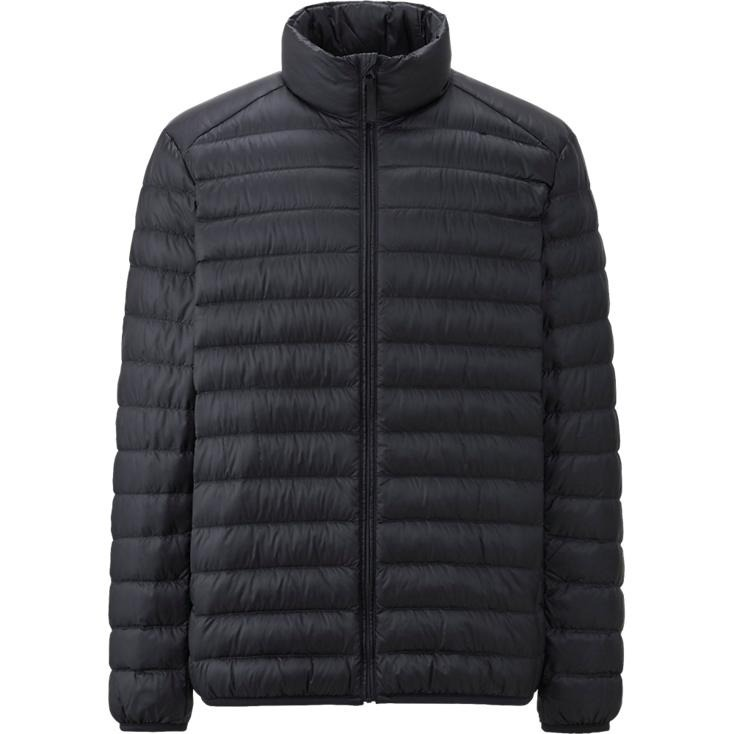 Campera Uniqlo Ultra Light Down Jacket Negro Original Hombre