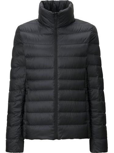 campera uniqlo ultra light down jacket negro original mujer