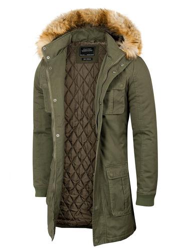 campera winterfell,estilo parka,capucha desmontable,valkymia