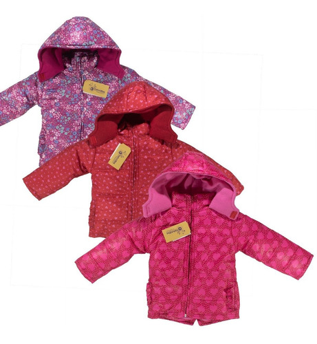 camperas beba abrigo estampada forrada polar . regalosdemama