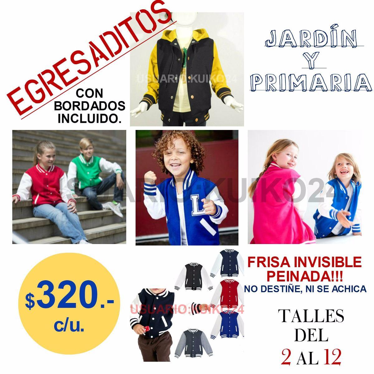 Camperas De Egresados Y Egresaditos C bordados Incluido!!! -   580 ... 4dd46375f38eb