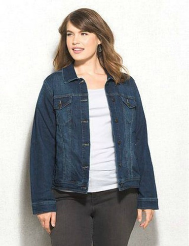 camperas de jeans talles especiales