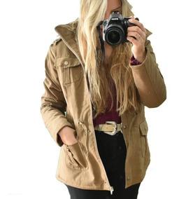 comprar oficial precio de descuento últimas tendencias de 2019 Campera Parka Gabardina Corderito Abrigo Mujer Moda Cazadora