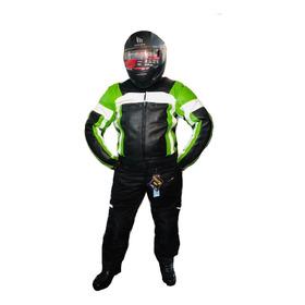Camperas Para Moto Cuero Con Proteccion (oferta Limitada)