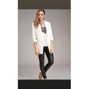 7ecb18755a03f Blazer Blanco Largo Mujer - Ropa y Accesorios en Mercado Libre Argentina