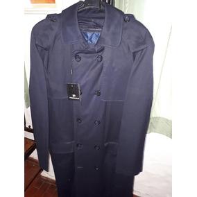 cc383b1e08596 Sobretodo Perramus De Hombre Nuevo Azul Excelente Talle 52