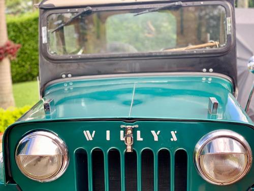 campero willys cj6 1959 - bien conservado