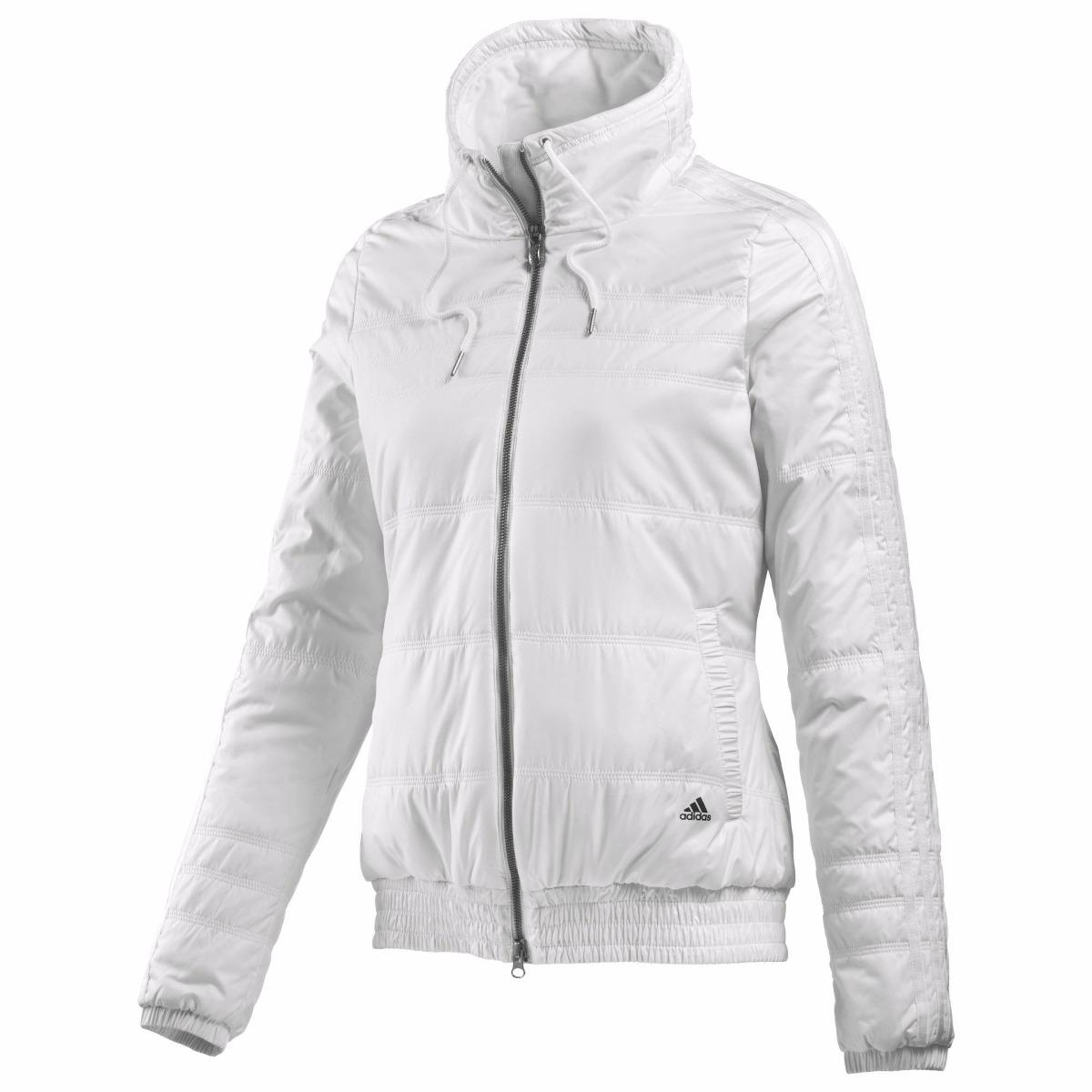 Deporfan adidas Blanca Camperon Acolchada Mujer Abrigo rBsQxhCtd