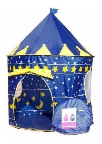campin castillo para niño o niñas