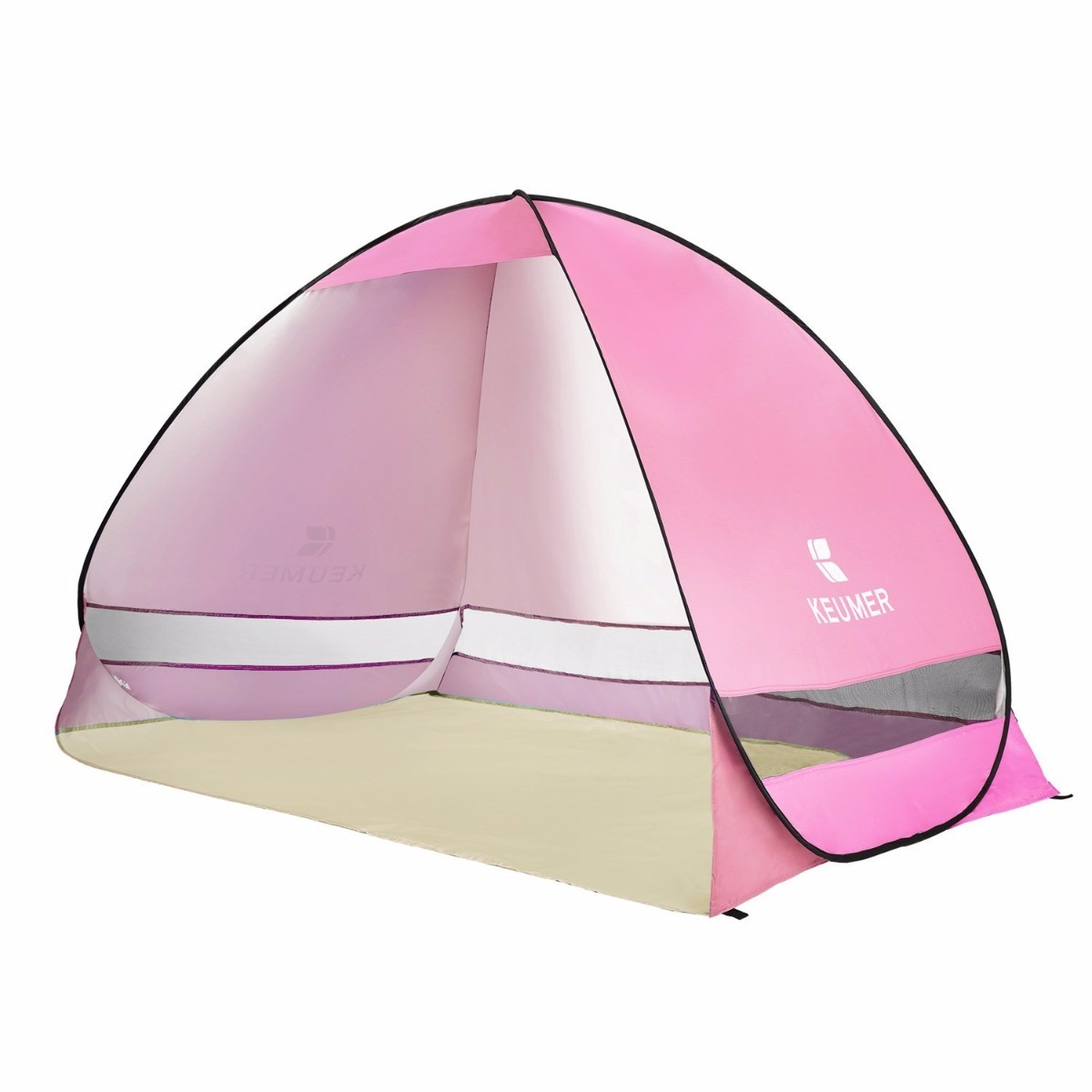 more photos 1b92f f6bee Camping Battop Pop Up Beach Tent Camping Sun Shelter Pink