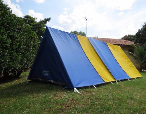 camping canadense barraca