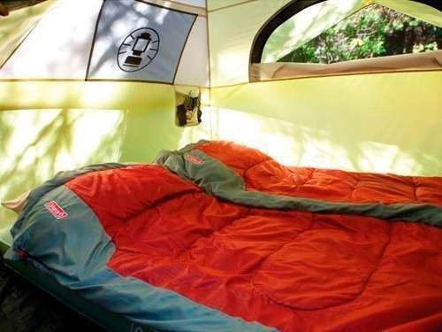 camping carpa coleman 4 personas instantatea dome