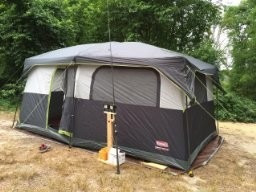 camping coleman barraca