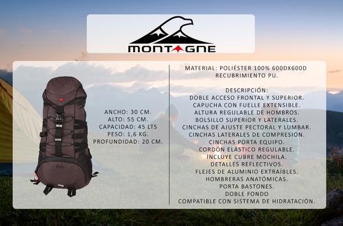 camping montagne mochila