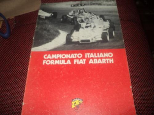 campionato italiano formula fiat abarth 1982